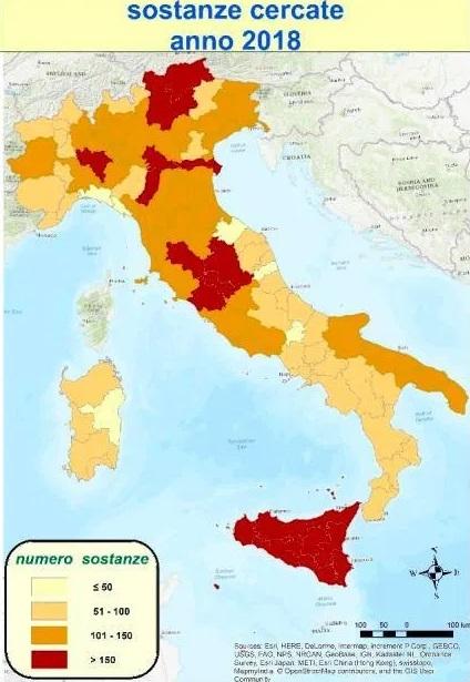 Ricerca di Pesticidi nelle acque, male l'Abruzzo, tra le regioni con meno campionamenti